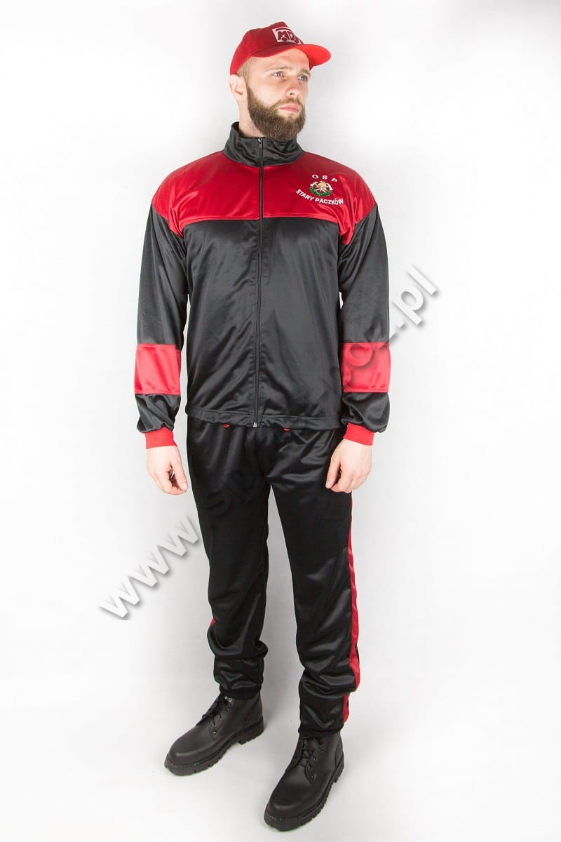 9c9e4c2f5 Ubranie treningowe OSP dres poliestrowy - Sprzęt-Poż - kompleksowe ...