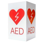 Znak AED 3D