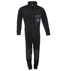 Kombinezon polarowy FLEECE OVERALL black 5000330